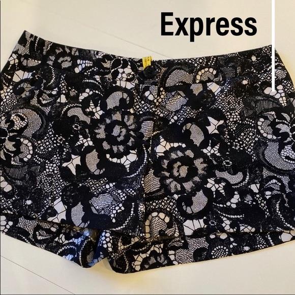 Express printed shorts